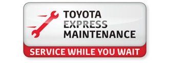 Downtown Toyota's Express Maintenance