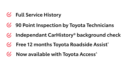 Toyota Certified Pre-Owned Pre-Owned Vehicles Benefits
